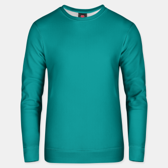 Thumbnail image of color dark cyan Unisex sweater, Live Heroes