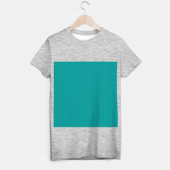 Miniature de image de color dark cyan T-shirt regular, Live Heroes