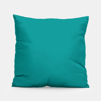 Thumbnail image of color dark cyan Pillow, Live Heroes