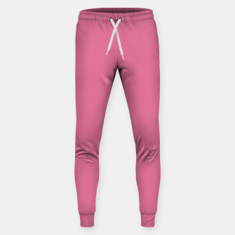 Thumbnail image of color pale violet red Sweatpants, Live Heroes