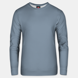 Thumbnail image of color light slate grey Unisex sweater, Live Heroes