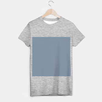 Miniature de image de color light slate grey T-shirt regular, Live Heroes