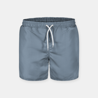 Thumbnail image of color light slate grey Swim Shorts, Live Heroes