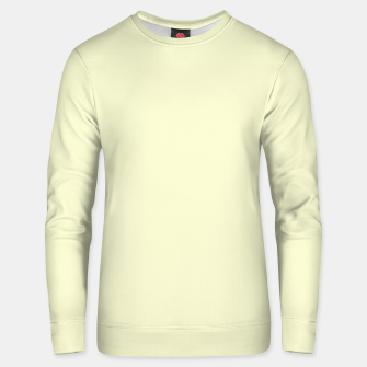 Miniatur color light goldenrod yellow Unisex sweater, Live Heroes