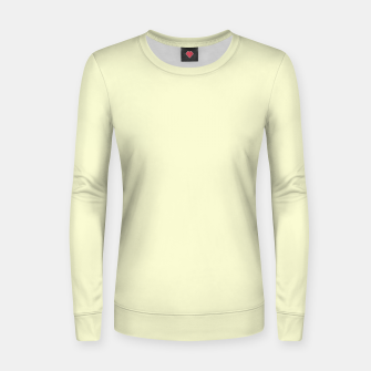 Miniatur color light goldenrod yellow Women sweater, Live Heroes