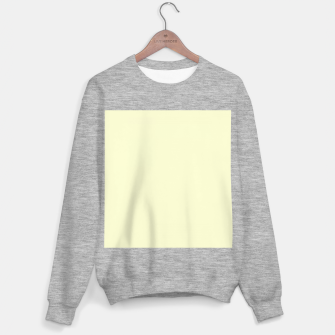 Miniatur color light goldenrod yellow Sweater regular, Live Heroes