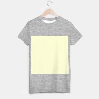 Miniature de image de color light goldenrod yellow T-shirt regular, Live Heroes