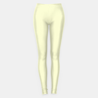 Miniatur color light goldenrod yellow Leggings, Live Heroes