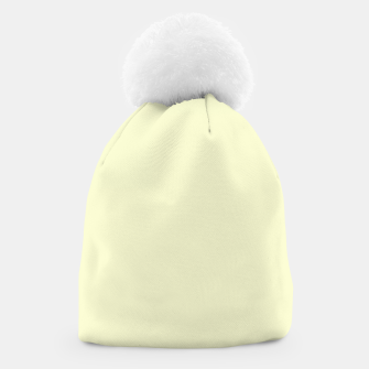 Miniatur color light goldenrod yellow Beanie, Live Heroes