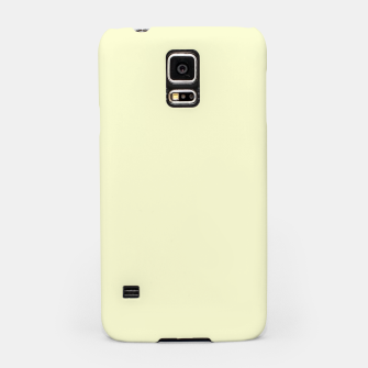 Miniatur color light goldenrod yellow Samsung Case, Live Heroes