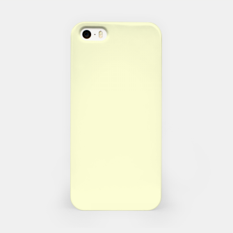 Miniatur color light goldenrod yellow iPhone Case, Live Heroes