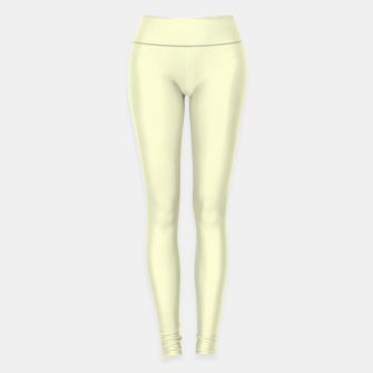 Miniature de image de color light goldenrod yellow Leggings, Live Heroes
