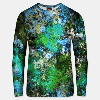 Thumbnail image of The wet and the moss Unisex sweater, Live Heroes