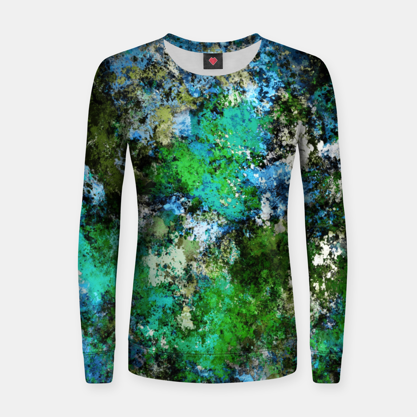 Image of The wet and the moss Women sweater - Live Heroes