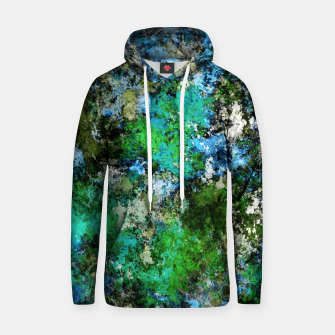 Thumbnail image of The wet and the moss Hoodie, Live Heroes