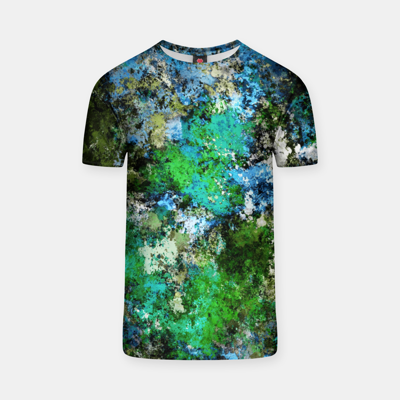 Image of The wet and the moss T-shirt - Live Heroes