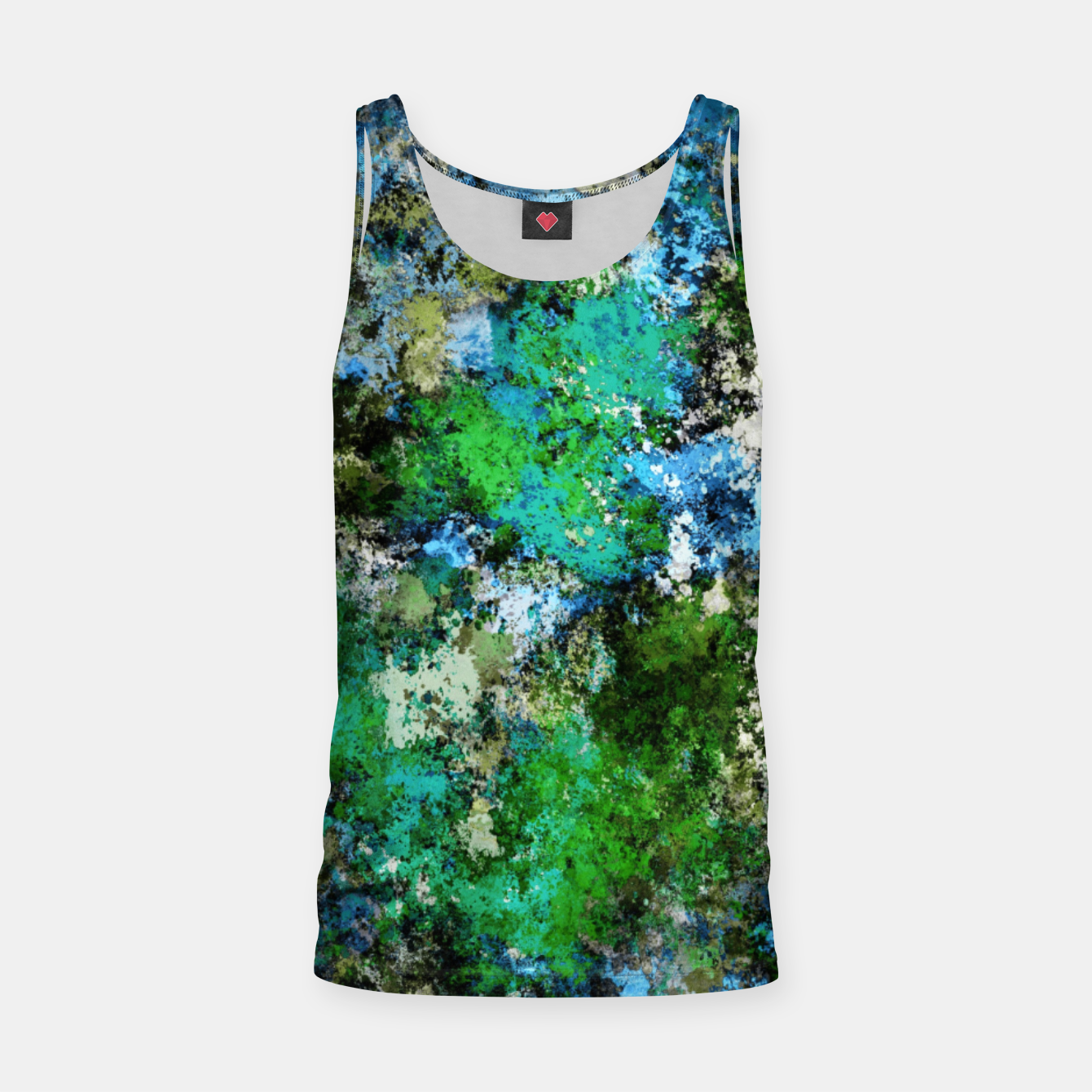 Image of The wet and the moss Tank Top - Live Heroes