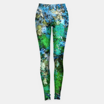 Thumbnail image of The wet and the moss Leggings, Live Heroes