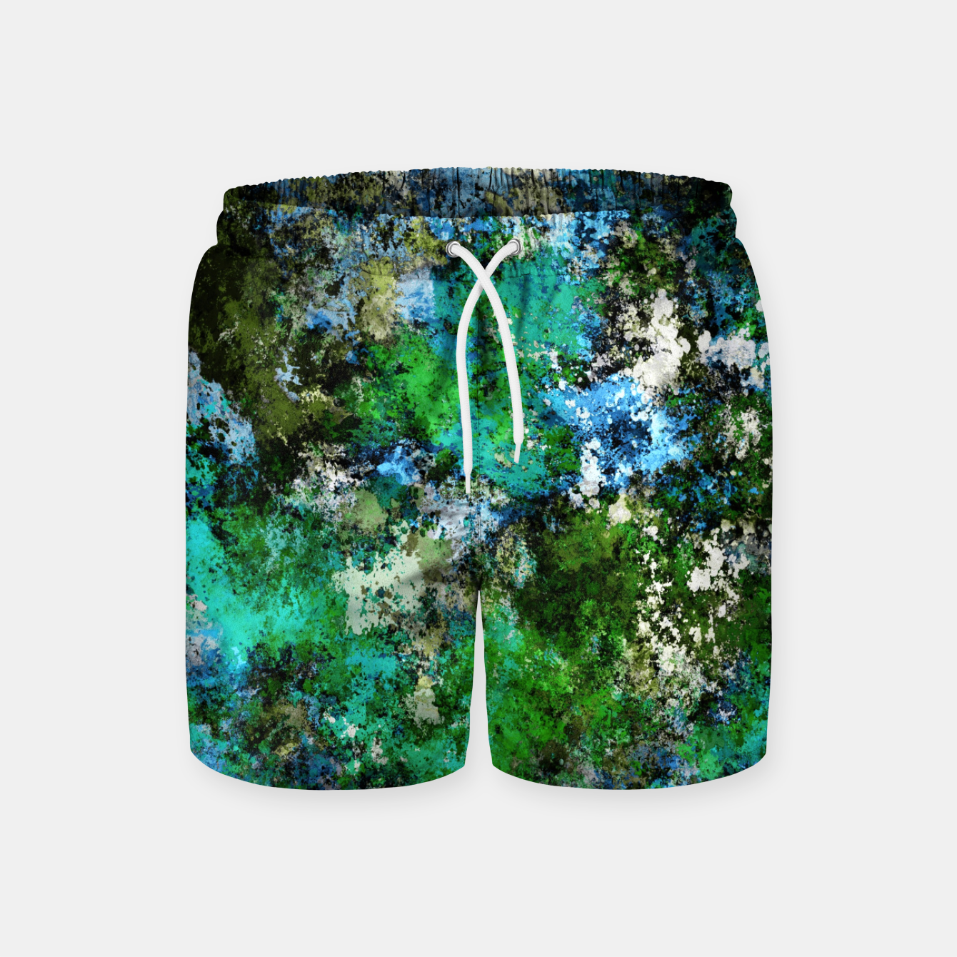 Image of The wet and the moss Swim Shorts - Live Heroes