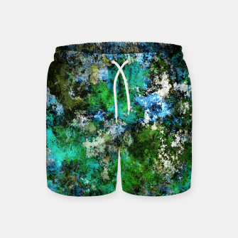 Thumbnail image of The wet and the moss Swim Shorts, Live Heroes