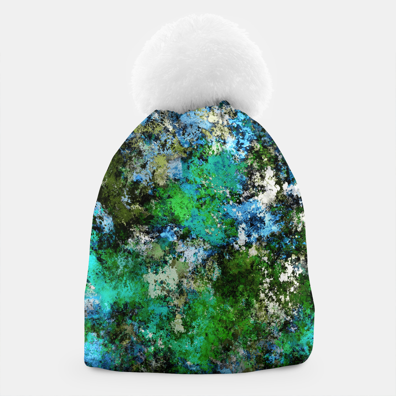 Image of The wet and the moss Beanie - Live Heroes