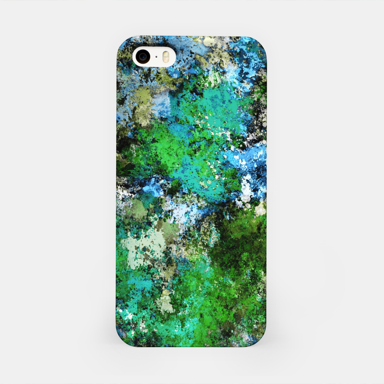 Image of The wet and the moss iPhone Case - Live Heroes