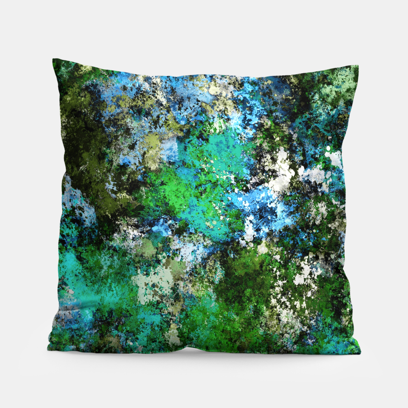 Image of The wet and the moss Pillow - Live Heroes