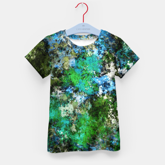 The wet and the moss Kid's t-shirt thumbnail image