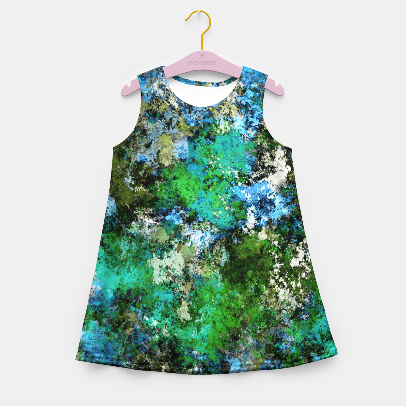 Image of The wet and the moss Girl's summer dress - Live Heroes