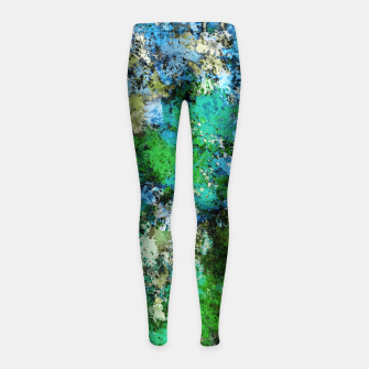 Thumbnail image of The wet and the moss Girl's leggings, Live Heroes