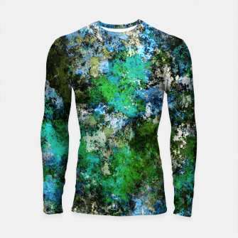 Thumbnail image of The wet and the moss Longsleeve rashguard , Live Heroes