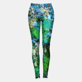 Miniature de image de The wet and the moss Leggings, Live Heroes
