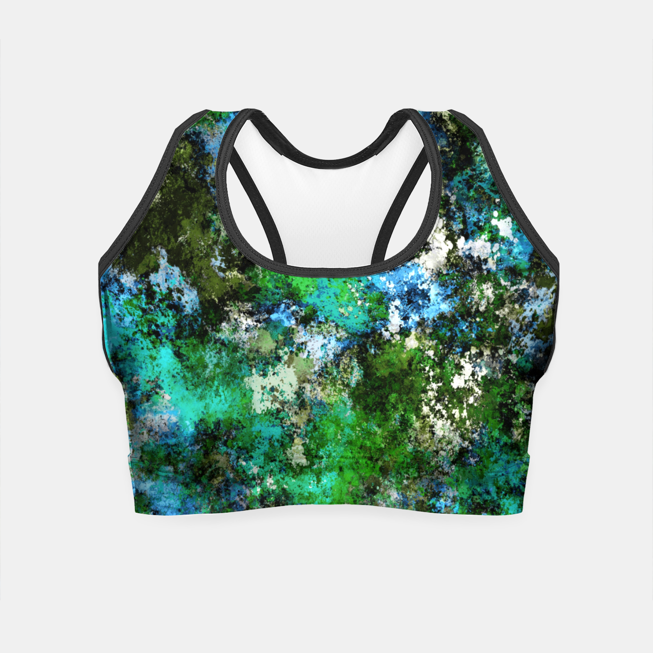 Image of The wet and the moss Crop Top - Live Heroes