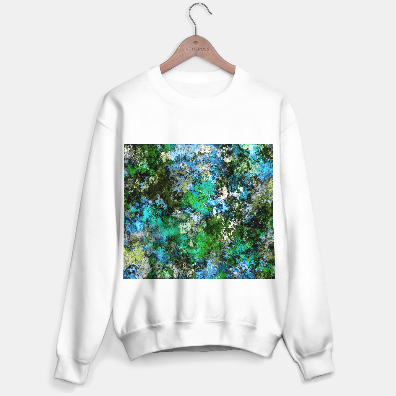 Image of The wet and the moss Sweater regular - Live Heroes