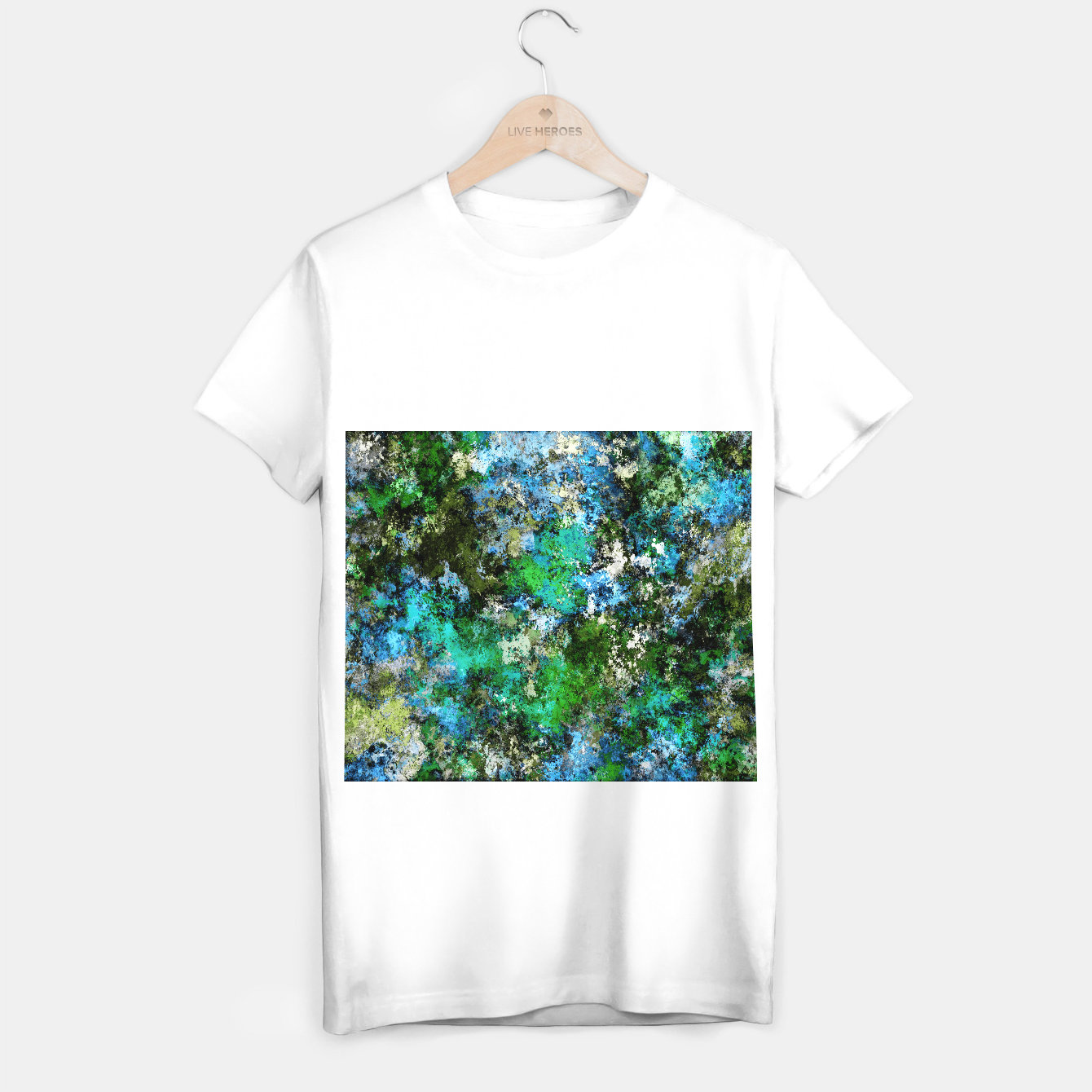 Image of The wet and the moss T-shirt regular - Live Heroes