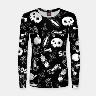 Thumbnail image of Cool Stuff Women sweater, Live Heroes