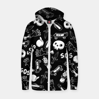 Thumbnail image of Cool Stuff Zip up hoodie, Live Heroes