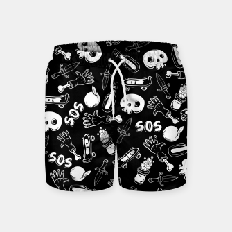 Miniatur Cool Stuff Swim Shorts, Live Heroes