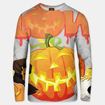 Thumbnail image of classic halloween Unisex sweater, Live Heroes