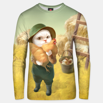 Thumbnail image of Chicken Hug Unisex sweater, Live Heroes