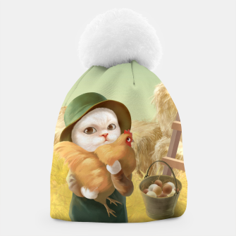 Thumbnail image of Chicken Hug Beanie, Live Heroes