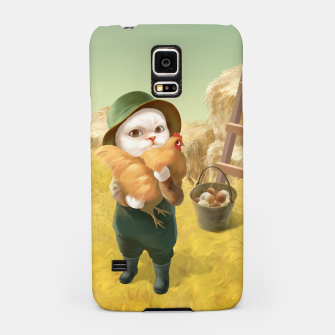 Thumbnail image of Chicken Hug Samsung Case, Live Heroes