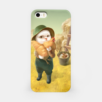 Thumbnail image of Chicken Hug iPhone Case, Live Heroes