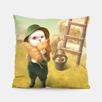 Thumbnail image of Chicken Hug Pillow, Live Heroes