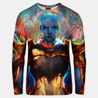 Thumbnail image of angel Unisex sweater, Live Heroes
