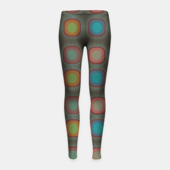 Thumbnail image of zappwaits - canuma Girl's leggings, Live Heroes