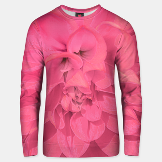 Miniaturka Beauty Pink Rose Detail Photo Unisex sweater, Live Heroes