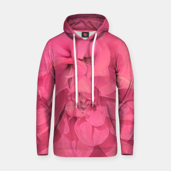 Thumbnail image of Beauty Pink Rose Detail Photo Hoodie, Live Heroes