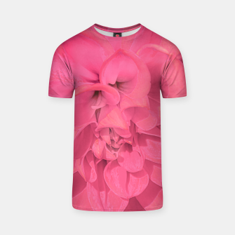 Thumbnail image of Beauty Pink Rose Detail Photo T-shirt, Live Heroes