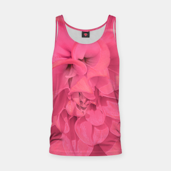 Miniaturka Beauty Pink Rose Detail Photo Tank Top, Live Heroes